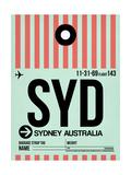 SYD Sydney Luggage Tag 1