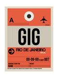 GIG Rio De Janeiro Luggage Tag 2