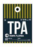 TPA Tampa Luggage Tag 2