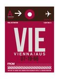 VIE Vienna Luggage Tag 2