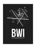BWI Baltimore Airport Black