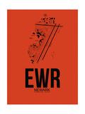 EWR Newark Airport Orange