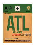 ATL Atlanta Luggage Tag 1