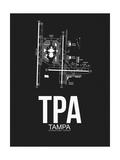 TPA Tampa Airport Black
