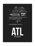 ATL Atlanta Airport Black