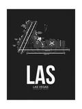 LAS Las Vegas Airport Black