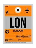 LON London Luggage Tag 1