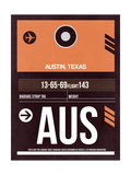 AUS Austin Luggage Tag 2