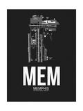 MEM Memphis Airport Black