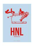 HNL Honolulu Poster 1