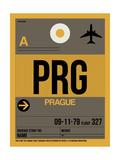 PRG Prague Luggage Tag 1