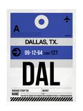 DAL Dallas Luggage Tag 1
