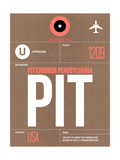 PIT Pittsburgh Luggage Tag 2