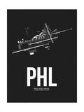 PHL Philadelphia Airport Black