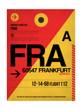 FRA Frankfurt Luggage Tag 2