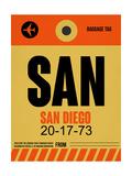 SAN San Diego Luggage Tag 1
