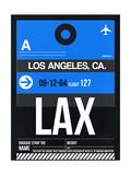 LAX Los Angeles Luggage Tag 3