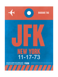 JFK New York Luggage Tag 1