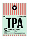 TPA Tampa Luggage Tag 1