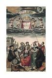Frontispiece of 'Harmonia Macrocosmica' or 'Celestial Atlas'