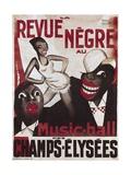 Poster of 'La Revue Negre'  1925