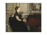 Madame Manet at the Piano
