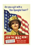 Recruiting Poster for the US Women's Army Corps