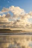 Constantine Bay at Sunset  Cornwall  England  United Kingdom  Europe