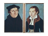 Luther and His Wife Katharina Von Bora