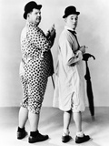 Oliver Hardy  Stan Laurel  Hal Roach Publicity Shot  Early 1930S