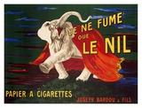 Je ne fume que Le Nil, 1912 Reproduction d'art par Leonetto Cappiello