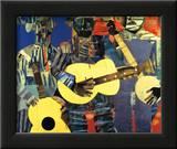 Three Folk Musicians  1967
