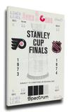 1974 NHL Stanley Cup Mega Ticket - Philadelphia Flyers