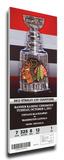 Chicago Blackhawks 2013 Stanley Cup Champions Banner Raising Mega Ticket
