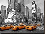 Taxis in Times Square  NYC