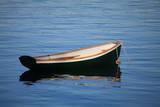 USA  Maine  Small Row Boat at Bass Harbor
