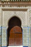 Door in the Souk  Marrakech  Morocco