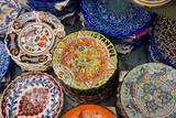 Asia  Turkey  Istanbul Grand Bazaar Hand Painted Ceramic Plates
