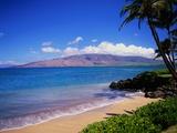 Kihei Beach and West Maui Mountains Papier Photo par James Randklev