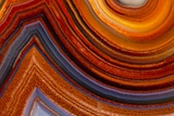 Close Ups of Fortification on Crazy Lace Agate Papier Photo par Darrell Gulin