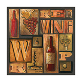 Type Set Wine Sq I
