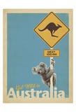 Get Wild in Australia Reproduction d'art par Anderson Design Group