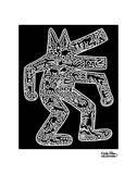 Dog, 1985 Reproduction d'art par Keith Haring