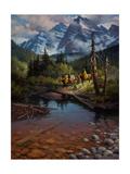 Ridin' the High Country Reproduction d'art par Jack Sorenson