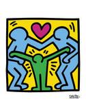 Pop Shop Reproduction d'art par Keith Haring