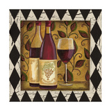 Harlequin and Wine I