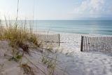 Beautiful Beach at Sunrise Papier Photo par Forestpath