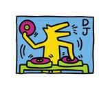 Pop Shop Giclée par Keith Haring