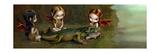 Befriending an Alligator Reproduction d'art par Jasmine Becket-Griffith