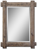 Claudio Wood Mirror